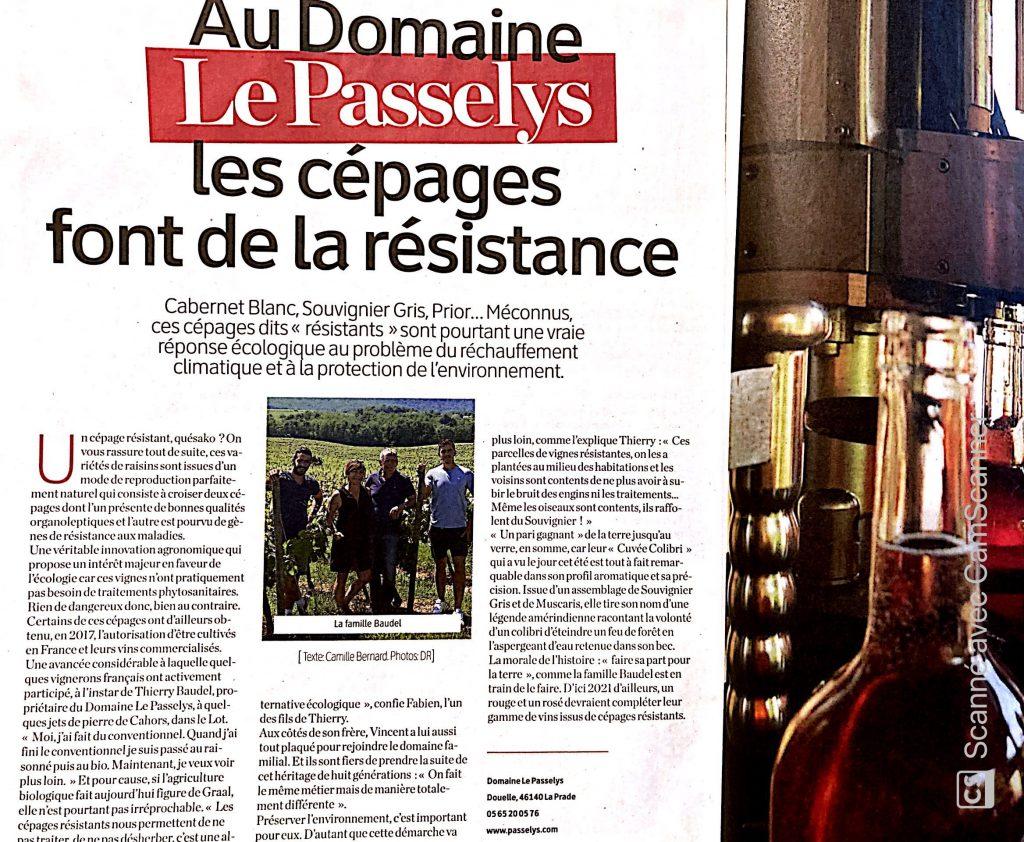 Article La Depeche du midi