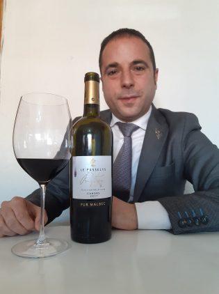 javier caballero cahors wine tasting